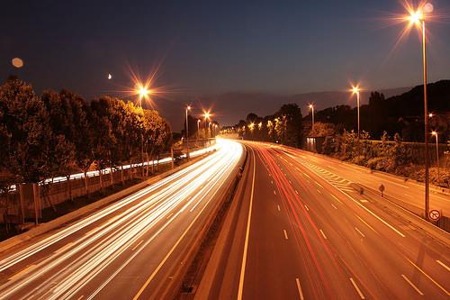 Éclairage routes