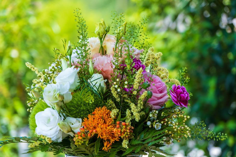 bouquet composé