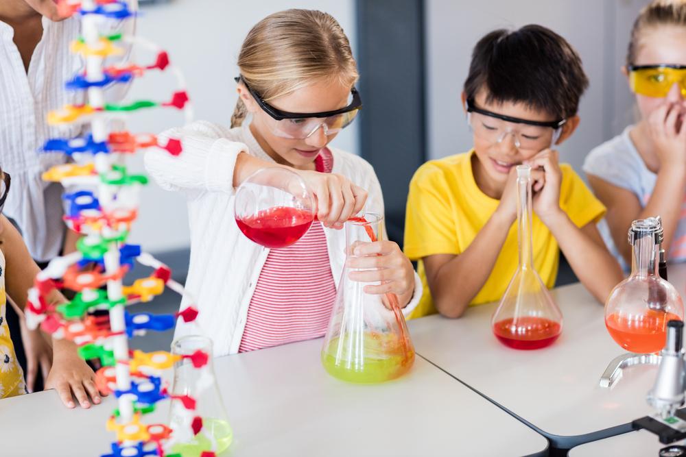 enfant et la science